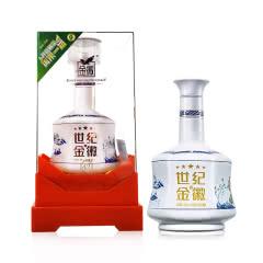 42°金徽酒世纪金徽五星500mL单瓶装甘肃名酒浓香型纯粮白酒