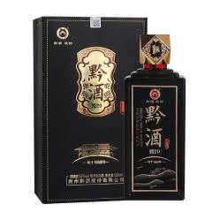 (买一赠一)53°贵州黔酒古坊酒 酱20 酱香型白酒500ml
