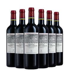 法国进口拉拉菲罗斯柴尔德凯撒天萨天堂古堡珍酿源自拉菲罗斯柴尔德波尔多红葡萄酒750ml*6