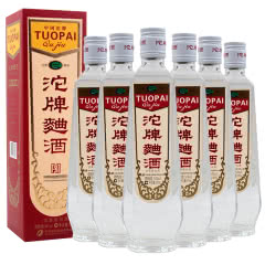 沱牌舍得酒 沱牌曲酒 (80年代复刻版) 浓香型白酒 54度 500ml*6整箱瓶