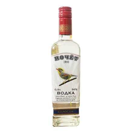 56°乌克兰进口伏特加小鸟麦穗伏特加Vokda 高度酒烈性伏特加鸡尾酒洋酒500ml