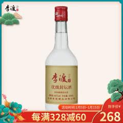 60°李渡优级封坛酒500ml单瓶浓特兼香型白酒江西李渡一口四香送礼佳品高度纯粮白酒