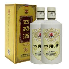 45°四特酒T5 特香型白酒 500ml(2瓶装)