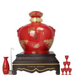 53°贵州茅台镇国台酒业 国台国礼 辛丑年纪念酱香型白酒5000ml(5L/坛)