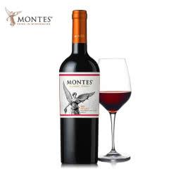 智利进口红酒蒙特斯经典系列马尔贝克红葡萄酒750ML单支装