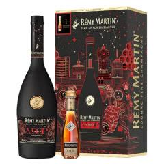 40° 人头马VSOP700ml+CLUB30ml 2020年限量礼盒装 法国原装进口洋酒