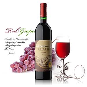 长城(窖藏)干红葡萄酒是精选国际酿酒名种葡萄解百纳