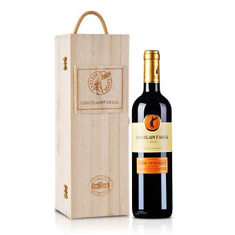 法国法莱雅f13原瓶进口干红葡萄酒高级木