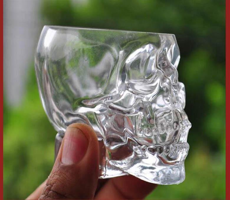 水晶骷髅头杯子