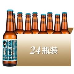 英国进口酿酒狗朋克ipa印度淡色艾尔啤酒330ml*24