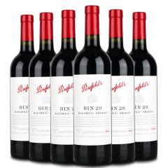 澳大利亚奔富Penfolds28/bin28干红葡萄酒750ml(6瓶装)