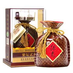 52°酒鬼酒紫坛柔和馥郁香国产高度白酒礼盒装500ml