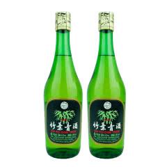老酒 45º 竹叶青酒 500ml (2瓶装) 2011年