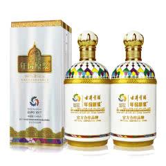 45°古井贡酒年份原浆哈萨克斯坦世博纪念酒750ml(双瓶装)