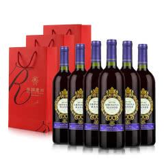 盛纳古堡2014王爵赤霞珠干红葡萄酒750ml*6(整箱特惠)