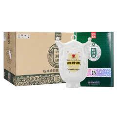 45°四特酒15年十五年陈酿 500ml(5瓶装)整箱