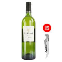 法国红酒法国(原瓶进口)特酿干白葡萄酒单支750ml