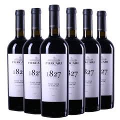 摩尔多瓦原瓶进口红酒普嘉利(PURCARI)1827黑皮诺干红葡萄酒750ml(6瓶)整箱