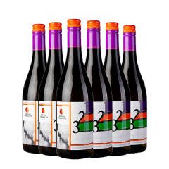 天鹅湖(kazayak)摩尔多瓦原瓶进口红酒女士甜酒莫斯卡托甜白葡萄酒750ml(6瓶装)