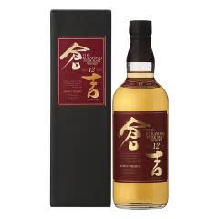 仓吉 (KURAYOSHI )日本12年纯麦威士忌 700ml