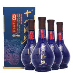 38.8度 十八酒坊 八年醇柔典范 老白干香型国产白酒礼盒装 480ml*4瓶装