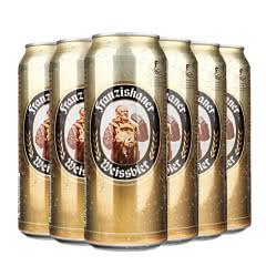 德国风味啤酒 范佳乐(教士)小麦白啤酒500ML(6听装)