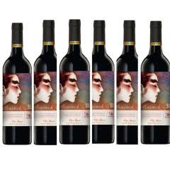 13.5°澳洲原瓶进口V25 天鹅庄孔雀杨丽萍艺术家干红葡萄酒750ml(6瓶装)