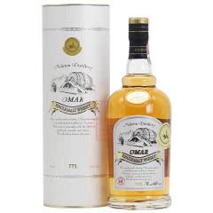 46°台湾OMAR单一麦芽威士忌波本花香700ml