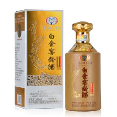 53°贵州茅台集团白金窖龄M30酱香型白酒500ml(单瓶)