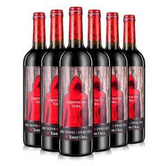 西班牙进口红酒 奥兰Torre Oria小红帽半甜红葡萄酒750ml*6瓶