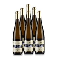 12.5°德国(原瓶进口)图岚朵雷司令半干白葡萄酒(花标)750ml*6