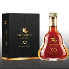 40°法国原装进口伯格骑士白兰地XO骑士70cl 单瓶礼盒装 700ML