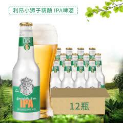 比利时原瓶进口 LION利昂小狮子IPA(6号)精酿啤酒 铝罐装 330ml*12瓶