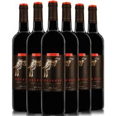 黄尾袋鼠红酒 澳洲进口红酒整箱 黄尾袋鼠珍藏系列葡萄酒750ML*6 黄尾袋鼠珍藏赤霞珠