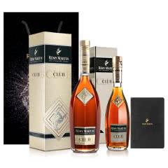 人头马CLUB香槟区优质干邑350ml+700ml+人头马笔记本+闪马礼袋-大号(黑色)
