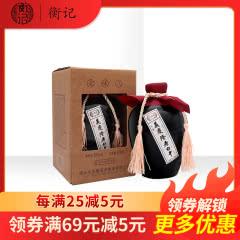 39°义庆隆老白干老味儿500ml单瓶礼盒装