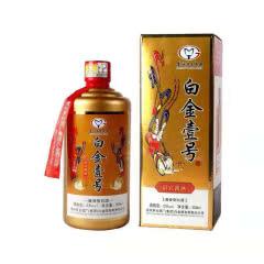 53°贵州茅台集团 白金壹号 酱香型白酒单瓶500ml