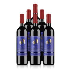 澳洲红酒澳大利亚莱圣堡酒仙梅洛干红葡萄酒750ml*6