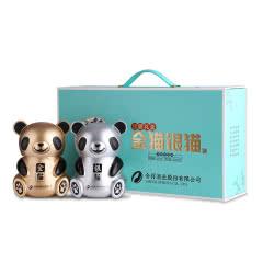 52° 舍得 金猫银猫(礼盒)500ML*2  双瓶装 礼盒