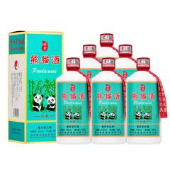 53°贵州茅台镇熊猫酒酱香型白酒整箱礼盒装纯粮食窖藏500ml(6瓶装)