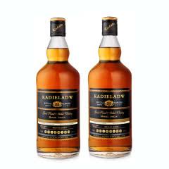40°卡爹拉礼拜天蒂标威士忌可乐桶洋酒威士忌酒组合装40度烈酒700ml*2