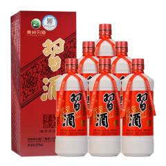 53°茅台集团 贵州习酒 老习酒 酱香型白酒 579ml*6整箱装