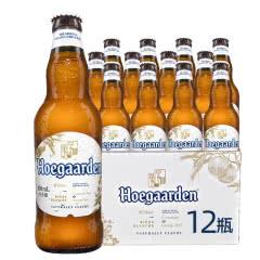 比利时风味啤酒Hoegaarden福佳小麦白啤酒330ml(12瓶装)