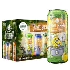 2.4度德国原瓶进口艾斯宝柠檬拉德乐啤酒500ml(8听)