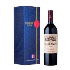 法国波尔多右岸名庄酒 大梅诺庄园干红葡萄酒 正牌红酒法国进口750ml 2013年