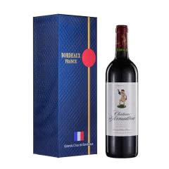 法国1855波尔多五级名庄酒 达玛雅克干红葡萄酒 法国进口红酒750mL 2017年
