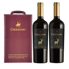 【双支礼盒】智利进口中央山谷产区金鹿窖藏干红葡萄酒750MLX2