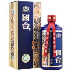 53°国台国彩酒 蓝 酱香型白酒500ml装