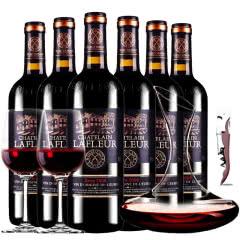 拉斐庄园2008特选原酒进口红酒干红葡萄酒整箱醒酒器装750ml*6