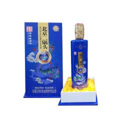 50°北京二锅头 永丰 京道1163 清香型白酒500ml礼盒装 宝蓝
